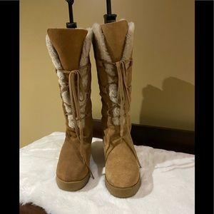 Michael Kors Ladies Short Wedge Boots